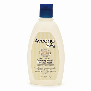 Aveeno Baby Soothing Relief Creamy Wash 12 fl oz (354 ml)