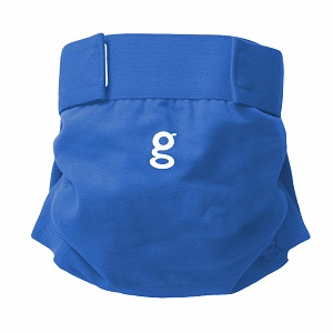 gDiapers Little gPants Globetrotter Blue