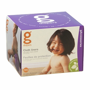 gDiapers gCloth Liners 105 ea