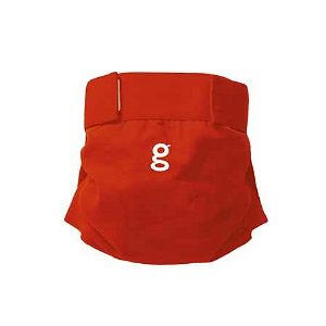 gDiapers Little gPants Grateful Red Medium