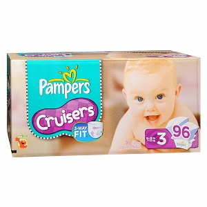 Pampers Cruisers Diapers 96 Each