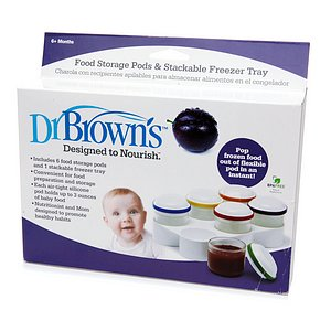 Dr. Brown's Food Storage Pods & Stackable Freezer Tray 1 ea