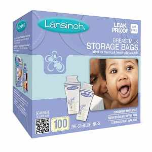 Lansinoh Breastmilk Storage Bags 100 ea