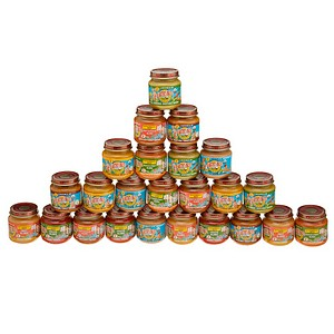 Earth's Best Organic Antioxidant and Dinner Variety Pack (24-4oz Jars) 1 case