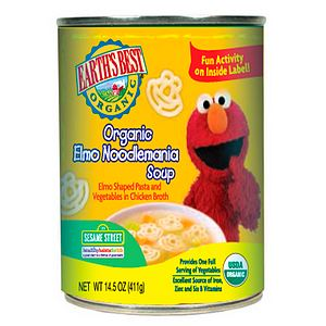 Earth's Best Sesame Street Organic Elmo Noodlemania Soup 14.5 oz