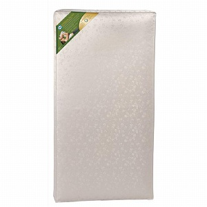 Sealy Soybean Plush Foam Crib Mattress 1 ea
