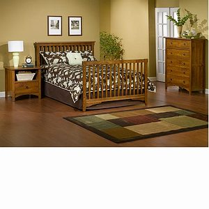 Child Craft Rose Valley Full Size Bed Rails