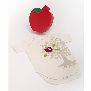 Baby Bunch Organic Apple One Piece