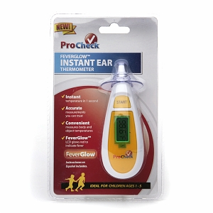 ProCheck FeverGlow Instant Ear Thermometer