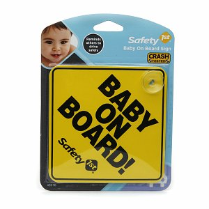 Safety 1st Baby On Board Sign 1 ea