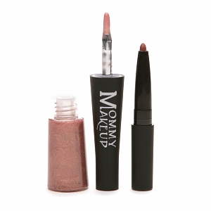 Mommy Makeup Mommy's Kisses Lipgloss & Lipliner in One