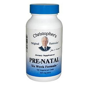 Dr. Christopher Pre-Natal Formula 100 vegetarian caps