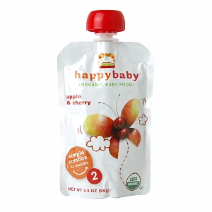 Happy Baby Organic Baby Food: Stage 2 / Simple Combos
