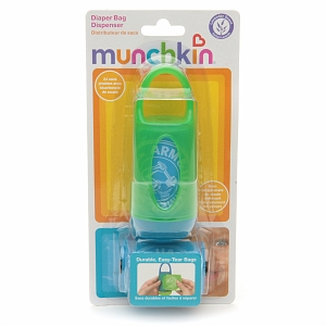 Arm & Hammer by Munchkin Diaper Bag Dispenser with Bags