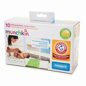 Arm & Hammer by Munchkin Changing Pads with Baking Soda 10 ea