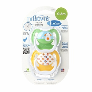 Dr. Brown's Prevent Design Neutral Stage 1 (0-6 Months) 2 ea