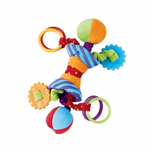 Manhattan Baby Ziggles Activity Toy and Teether 1 ea