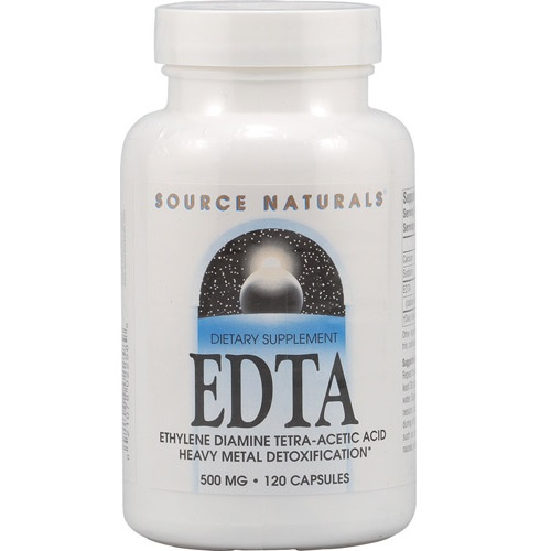 EDTA Ethylene Diamine Tetra-Acetic Acid 500 mg.