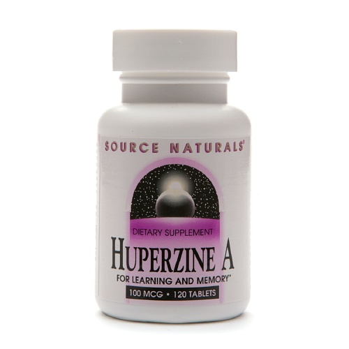 Huperzine A 100mcg 120 tabs SOURCE NATURALS