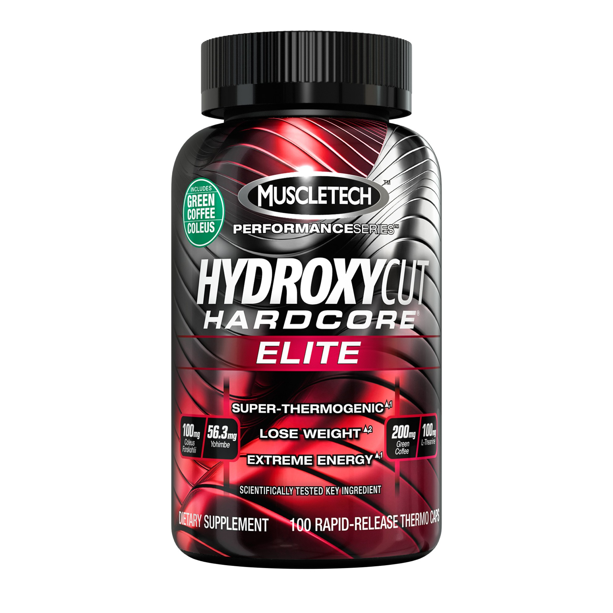 Hydroxycut Hardcore Elite 100 caps MUSCLETECH