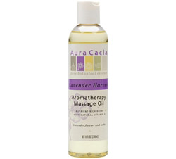 Aromatherapy Massage Oil Lavender Harvest