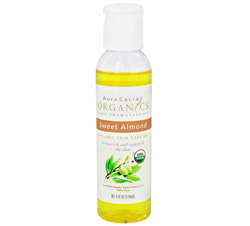 Certified Organic Skin Care Oil Sweet Almond