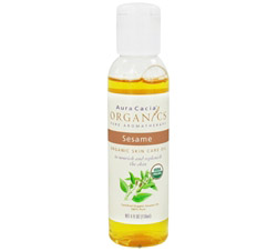 Certified Organic Skin Care Oil Sesame