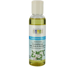 Aromatherapy Bath, Body & Massage Oil Refreshing Peppermint Harvest