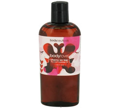 Body Love Flavored Massage Oil Cherry