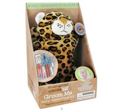 Endangered Species Groom Me Baby Essentials Kit Wild Cat CLEARANCE PRICED