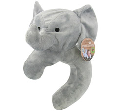 Endangered Species Travel Buddy Neck Pillow and Blanket Asian Elephant CLEARANCE PRICED