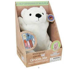 Endangered Species Groom Me Baby Essentials Kit Polar Bear CLEARANCE PRICED