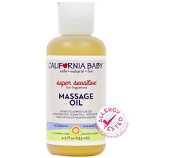 Aromatherapy Massage Oil Super Sensitive All Natural No Fragrance