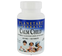 Calm Child 432 mg. Formerly Planetary Formulas