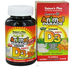 Animal Parade Vitamin D3 Black Cherry