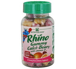 Rhino Gummy Calci-Bears with Vitamin D Formerly Swirlin' Calci-Bears
