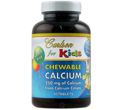 Kids Chewable Calcium with Vanilla 250 mg.