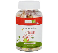 Gummy Cuties Kids Calcium with Vitamin D