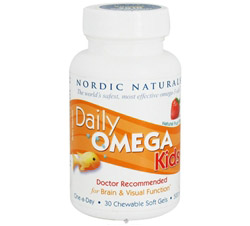Daily Omega Kids Strawberry 500 mg.