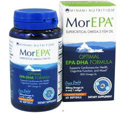 MorEPA Supercritical Omega-3 Fish Oil Orange Flavor 800 mg.