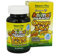 Animal Parade Junior Omega 3-6-9 Lemon Flavor DAILY DEAL