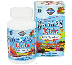 Oceans Kids DHA Chewables Berry Lime