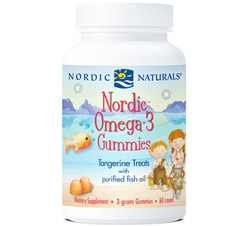 Nordic Omega-3 Treats With Purified Fish Oil Tangerine