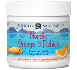 Nordic Omega-3 Fishies Tangerine 10 g.