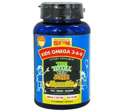 Kids Omega 3-6-9 The Total EFA Junior Chewable Orange Flavor