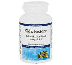 Kid's Factors Balanced DHA Blend Omgea 3 & 6 Formerly Learning Factors