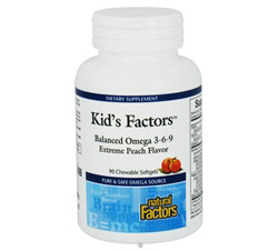 Kid's Factors Balanced Omega 3-6-9 Formerly Learning Factors