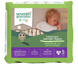 Overnight Diapers Stage 5 (27+ lbs.) CLEARANCE PRICED