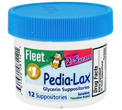 Fleet Pedia-Lax Glycerin Suppositories Laxative