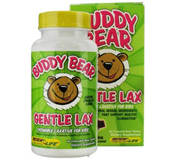 Buddy Bear Gentle Laxative for Children Chocolate
